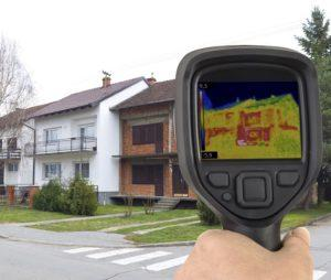 Thermal imaging crawl space inspection