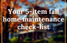 fall maintenance tips